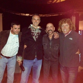 Bill Hamrick, Rex Jones, Jimbeau Hinson, & Dillon Dixon @ Thacker Mountain Radio in Oxford, 2013