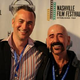 Rex Jones & Jimbeau Hinson on the red carpet @ the Nashville Film Festival, 2014