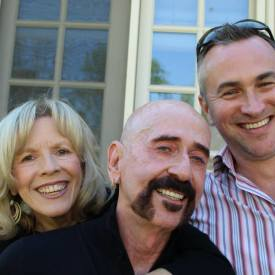 Rex Jones, Jimbeau Hinson, & Brenda Fielder @ pre-party for the Nashville Film Festival, 2014