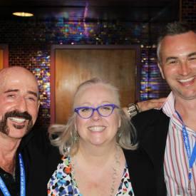 Jimbeau Hinson, Sandy Knox, & Rex Jones @ the Nashville Film Festival, 2014