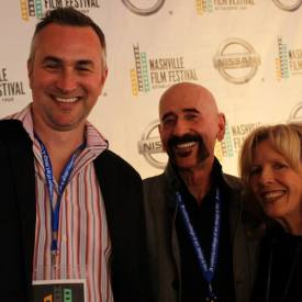 Rex Jones,  Jimbeau Hinson, & Brenda Fielder on the red carpet @ the Nashville Film Festival, 2014