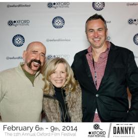 Jimbeau Hinson, Brenda Fielder, & Rex Jones @ the Oxford Film Festival, 2014