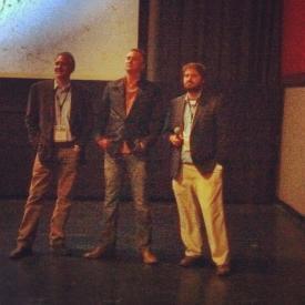 Andy Harper, Rex Jones, & Matthew Graves @ the Oxford Film Festival, 2014