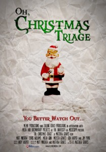 Oh Christmas Triage Poster